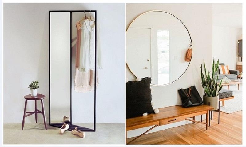 4 cách lựa chọn gương trang trí đẹp cho phòng khách và phòng ngủ
