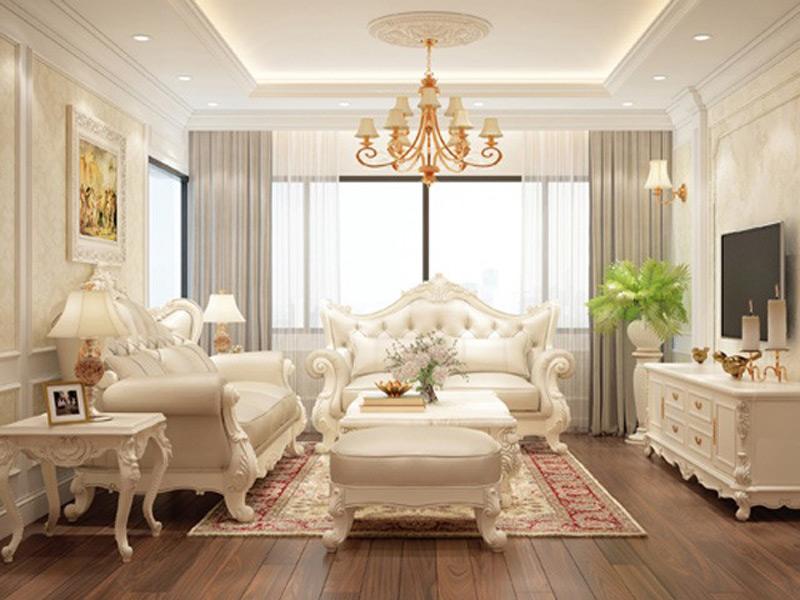 Thiết kế nội thất phong cách tân cổ điển đẹp sang trọng và hiện đại
