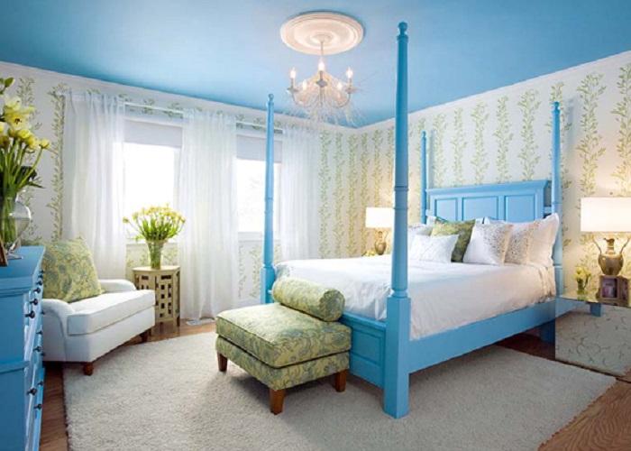 Người mệnh mộc nên chọn kê đầu giường và đặt phòng ngủ theo hướng bắc