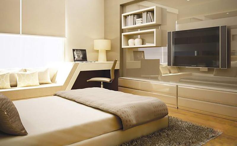 Diện tích phòng ngủ tối thiểu là bao nhiêu - phòng ngủ 13m2