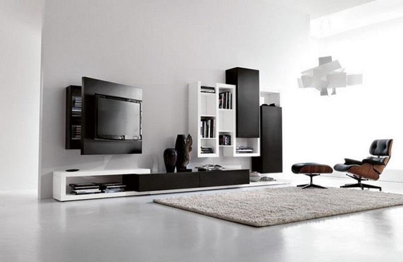 Những mẫu kệ tivi đẹp, hiện đại cho phòng khách chung cư 150m2
