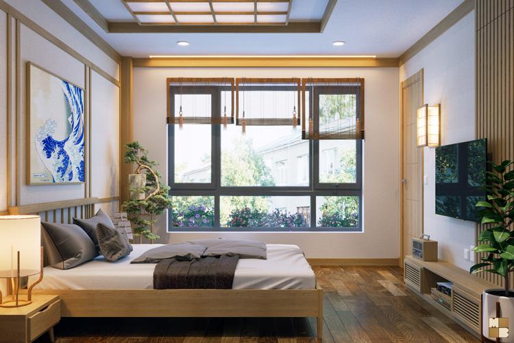 Thiết kế nhà kiểu Nhật - căn mẫu liền kề MINORI (P1)