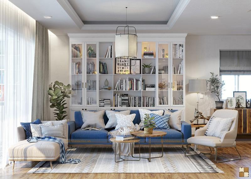 Thiết kế nội thất căn hộ chung cư trọn gói 100m2  tiết kiệm chi phí