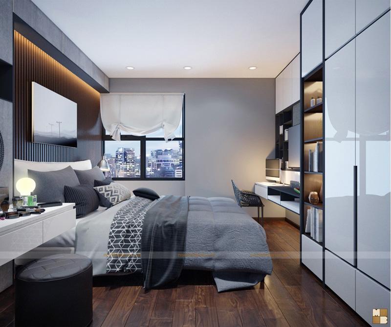 Thiết kế căn hộ 100m2 3 phòng ngủ tại chung cư Goldmark City - Phòng ngủ con gái