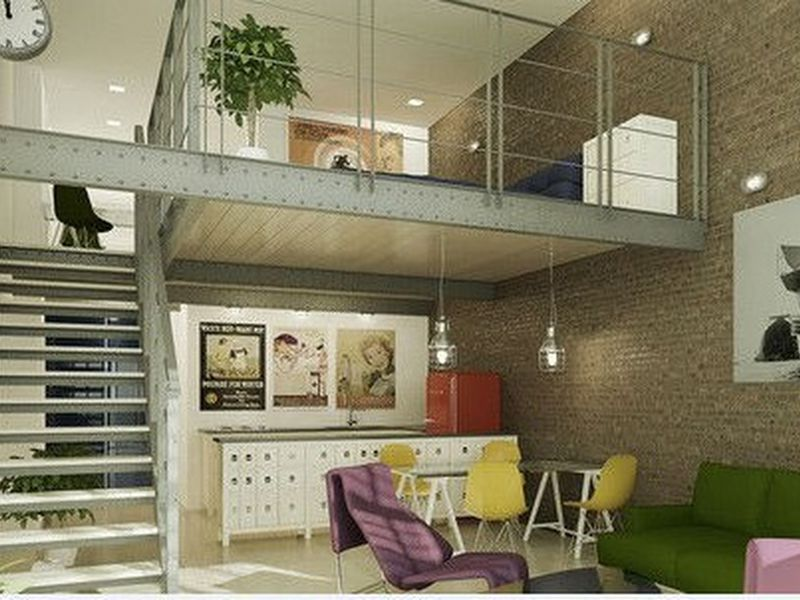 thiết kế căn hộ chung cư có tầng lửng 11