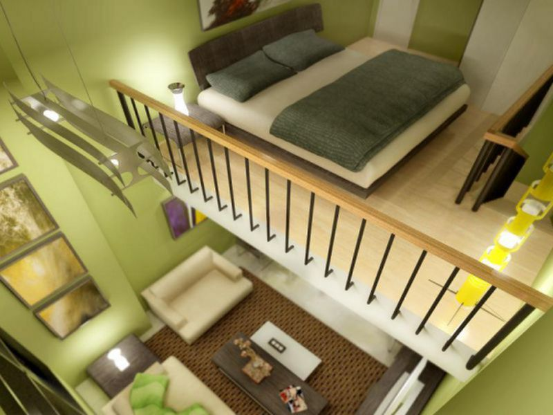 thiết kế căn hộ chung cư có tầng lửng 5